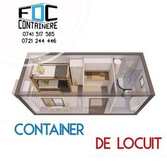 Container de locuit cu dus și bucătărie | Spațiu de cazare complet din container   #fabricatinromania🇹🇩 #container #containerhouse #modular #modularcontainer #containerarchitecture #tinyhouse #smartliving #smartcity #smartbuilding #containerlife #containerliving #sustainableliving #sustainability #containerbuilding #ecology #smartway #kitchen #kitchendesign #3dmodeling #3dmodel #fabricadecontainere #containerefdc