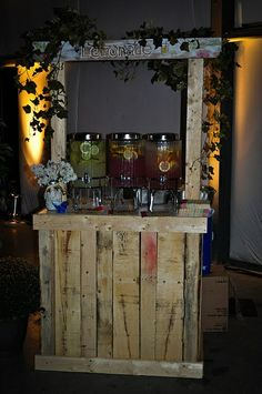backyard ideas with pallets | ... Bar could be easy to build with pallet wood or ... | cool id