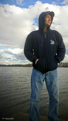 """The Starboard Rail's new """"Sunset Sail"""" hoodies are now available! Plus everything is on sale this week. Check out http://www.LovingLifeOnTheWater.com  #TheStarboardRail #LovingLifeOnTheWater #SunsetSail #Boating #BlackFriday #Sale"""