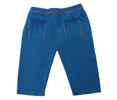 Aymara blauw broekje met terra accenten