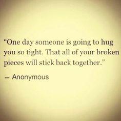Hugs rock