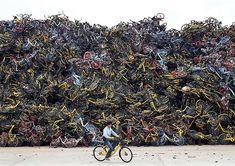 Bike share bicycles don't count towards N+1 #dockless #bikeshare #bicycle #nplusone #china #bike #sharing