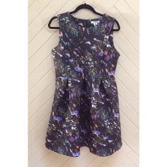 Floral Fit and Flare Dress NWT! Floral printed fit and flare dress. Brand is Glamorous. Scuba material with pleats. Exposed back zipper. ❌No trades❌ Glamorous Dresses