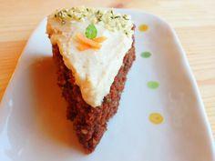 Wholly Vegan: VeganMoFo 12: Chocolate Hemp Seed Carrot Cake with Cashew Frosting