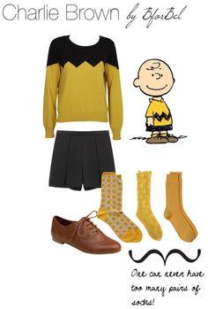 Roupa Inspirada no Charlie Brown