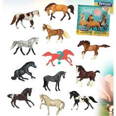 Breyer Animal Creations Breyer Spirit Riding Free Blind Bag Model Horse, Series One Random Bryer Horses, American Pharoah, Imaginative Play, Goodie Bags, Beautiful Horses, Cool Toys, Blinds, Spirit, Horses