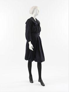 Gym Suit: 1890's, American, wool.