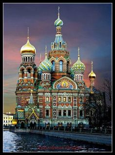 Saviour on Spilled Blood in St. Petersburg - Counted Cross Stitch Patterns - Printable Chart PDF For