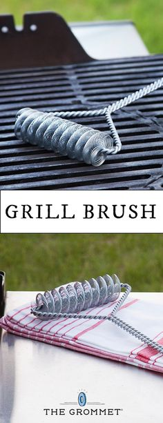 The bristle-free way to clean your grill, safely. There are no metal bristles that could shed and end up in your food.