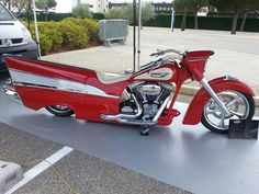 BikersPost - A '57 Chevy as a motorcycle