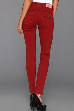 Florida Jean Company - True Religion Womens Jeans Serena Overdye Crimson, $188.00 (http://www.fljean.com/true-religion-womens-jeans-serena-overdye-crimson/)