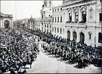 Funeral del General Manual Baquedano 1897