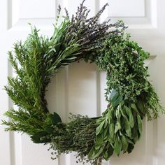 A wreath of fresh herbs is so much more than a festive holiday decoration. It is as functional as it is beautiful, providing a veritable garden of herbs that will add flavor to your recipes throughout the season. Whether you hang it on your front door, keep it handy in the kitchen, or give it as a gift, this herb wreath is sure to be a hit for the...