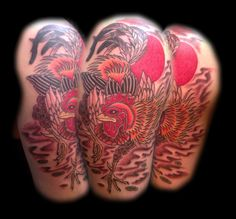 traditional japanese rooster tattoo - Google Search Rooster Tattoo, High Quality Business Cards, Flyer Printing, Online Printing Companies, Traditional Japanese, Japanese Style, Design Your Own, Stationery, Ink