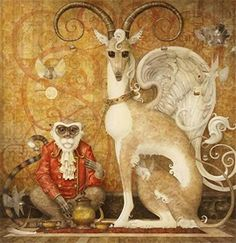 """High Tea"" ~ Daniel Merriam ~ Watercolorist Extraordinaire"