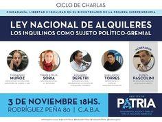 """Ciclo de Charlas: """"Ley Nacional de alquileres. Los inquilinos como sujeto político – gremial"""" - YouTube"""