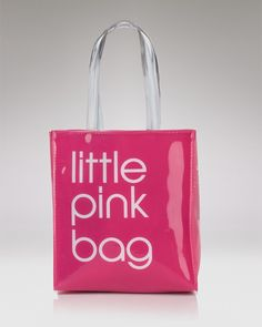 Bloomingdale's 'Little Pink Bag'