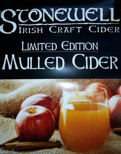 Time to warm you up with mulled cider