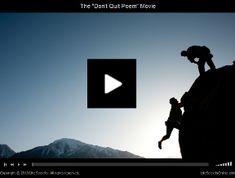 [Inspirational VIDEO] Feel like giving up? Watch this! http://balancedlivingmagazine.com/inspirational-video-feel-like-giving-up-watch-this/