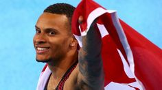 Twenty-one year old Andre De Grasse wins an Olympic Bronze medal with a personal best of 9.91s in the Men's 100m race. Usain Bolt of Jamaica wins the 100m for his third Gold metal in this event. Justin Gatlin of the USA took the Silver. Aug 14, 2016 This was De Grasse's 1st Olympics.  De Grasse is the first Canadian male athlete to win a medal in Rio. It is also the first Canadian medal in the marquee event since 1996.