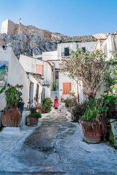 Athens, Greece - Travel Europe - Neighbourhood in Athens, Greece - Beautiful Places To Travel, Cool Places To Visit, Places To Go, Voyage Europe, Places In Europe, Athens Greece, Crete Greece, Greece Travel, Travel Europe