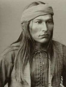 Chief Naiche (ca. 1857-1919). Final hereditary chief of the Chiricahua band of Apache. Naiche was the youngest son of Cochise and Dos-teh-seh. His older brother was Chief Taza. Naiche was a tall, handsome man with a dignified bearing. Upon the death of his father Cochise, Taza became the chief, but he died only two years later and the office went to Naiche. In the 1880s, Naiche and Geronimo successfully went to war together. Naiche died on March 16, 1919 in Mescalero, New Mexico.