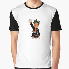 """Gon Freecss x Obito Uchiha"" by teeumour | Redbubble Chiffon Tops, Classic T Shirts, Manga, Cotton, Anime, Mens Tops, Stuff To Buy, Fashion, Moda"