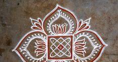Easy Rangoli Designs Diwali, Rangoli Simple, Indian Rangoli Designs, Simple Rangoli Designs Images, Rangoli Designs Flower, Rangoli Border Designs, Small Rangoli Design, Rangoli Ideas, Rangoli Designs With Dots