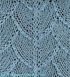 Dragon Skin - Knittingfool Stitch Detail