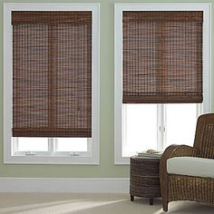 jcp home™ Woven Wood Bamboo Roman Shade - jcpenney $20