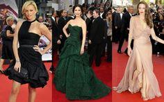 Strawberry shaped celebrities: Charlize Theron, Catherine Zeta-Jones and Angelina Jolie