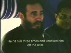 an old interview of Fidel Castro with English subtitle