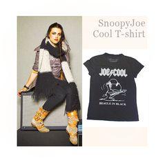 Katie McGrath - Snoopy/Joe Cool T-shirt