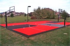 28 Best Sport Court Backyard images | Backyard, Backyard ...