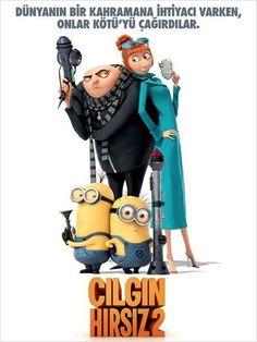 2010 yılında yayınlandıktan sonra 7'den 70'e tüm sinemaseverleri sinema salonlarına çeken animasyon Çılgın Hırsız'ın devamı olan film yine bol kahkaha vaat ediyor. Yönetmen koltuğunda Pierre Coffin ve Chris Renaud'un oturduğu yapımın orijinal seslendirme kadrosunda ise Al Pacino Jason Segel ve Steve Carell isimleri hemen göze çarpıyor...