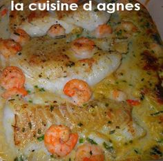 Cod fillets au gratin with coconut curry (without milk - Cod cakes au gratin with coconut milk (lactose-free recipe) - Lactose Free Diet, Lactose Free Recipes, Gluten Free Cooking, Cooking Recipes, Healthy Recipes, Shrimp Coconut Milk, Coconut Curry, Cod Cakes, 20 Min