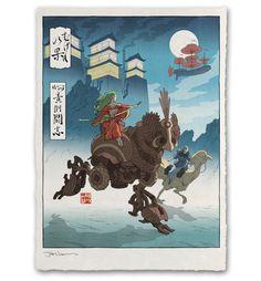 'Flight of Fantasy' Giclée Print