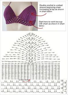 DiaryofaCreativeFanatic: Needlecrafts - Crochet, Bralettes and Halters