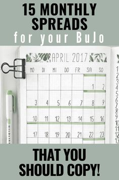 GET INSPIRATION FOR YOUR BULLET JOURNAL. MONTHLY BULLET JOURNAL SPREAD IDEAS THAT YOU NEED TO SEE! GET INSPIRED, CREATIVE AND PRODUCTIVE THIS MONTH. Click to read more. Bullet Journal September, Monthly Bullet Journal Layout, Bullet Journal Mood Tracker Ideas, Bullet Journal For Beginners, Bullet Journal How To Start A, Bullet Journal Spread, Bullet Journal Inspiration, Bullet Journals, Art Journals