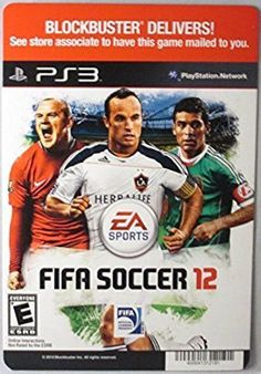 EA SPORTS: FIFA Soccer 12 - PS3 - (Not The Video Game) - #Golf #Sports #Art