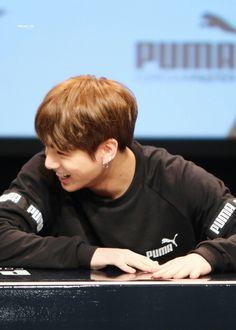 That smile ❤ #JeonJungkook #Jungkook #Kookie #JK #maknae #bts #cute