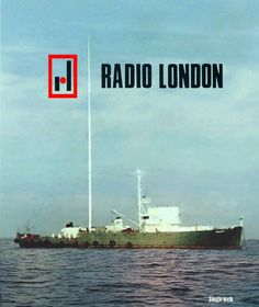 The MV Galaxy, home of Wonderful Radio London in Radios, Medium Waves, Old Time Radio, 70s Music, North Sea, Kinds Of Music, Growing Up, Britain, 1960s