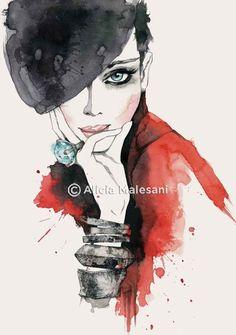 Alicia Malesani #illustration