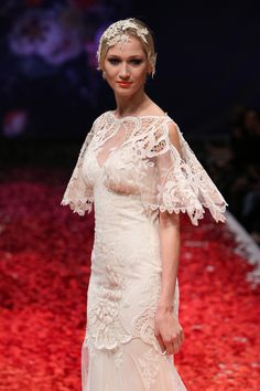 Claire Pettibone 'Amaryellis' wedding dress, Still Life Collection
