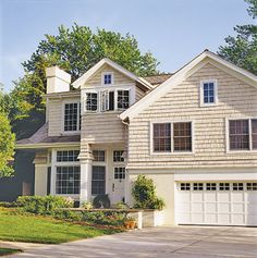 Split-Level Home Makeover- Click and see what this house used to look like-  You'll be surprised