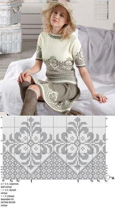 Knitting Baby Pullover Fair Isles 41 Ideas For 2020 - Diy Crafts - hadido Knitting Paterns, Fair Isle Knitting Patterns, Knitting Charts, Lace Knitting, Knitting Designs, Knitting Stitches, Knit Patterns, Knit Crochet, Tejido Fair Isle