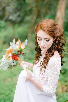 Curly Bridal Hair, Girls Dresses, Flower Girl Dresses, Wedding Dresses, Fashion, Bride Groom Dress, Nature, Engagement, Valentines Day Weddings