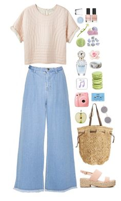 """Untitled #160"" by pinkandgoldsparkles ❤ liked on Polyvore featuring Étoile Isabel Marant, ASOS, Flora Bella, CASSETTE, Happy Plugs, Marc Jacobs, Louis Vuitton, Maison Margiela, Bobbi Brown Cosmetics and iittala"