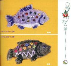 more crochet fishies?