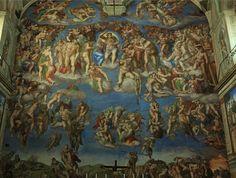 Sistine Chapel rear wall - The Last Judgement
